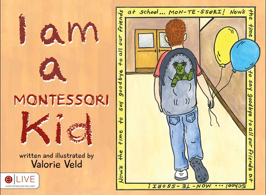 I am a Momtessori Kid bo=ok cover